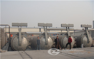 Autoclave for Calcium Silicate board image