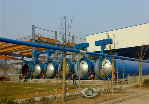 Autoclave for PHC pile