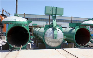 Autoclave for sand brick