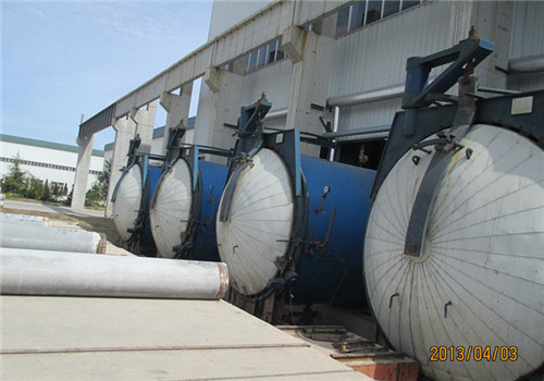 Concrete pipe pile curing machine