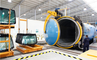 Glass-laminating autoclave