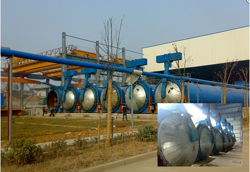 Autoclave for PHC pile for sale in Malaysia