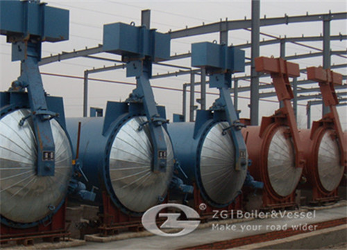 Autoclave for autoclaved aerated concrete block for sale China
