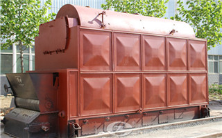 Chain grate steam boiler image