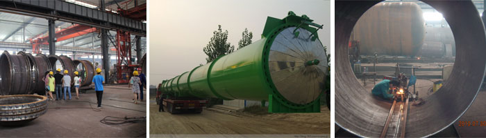 Service of  Autoclave for sand brick
